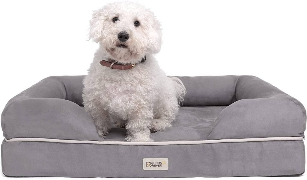 Friends Forever Orthopedic Easy To Clean Dog Bed