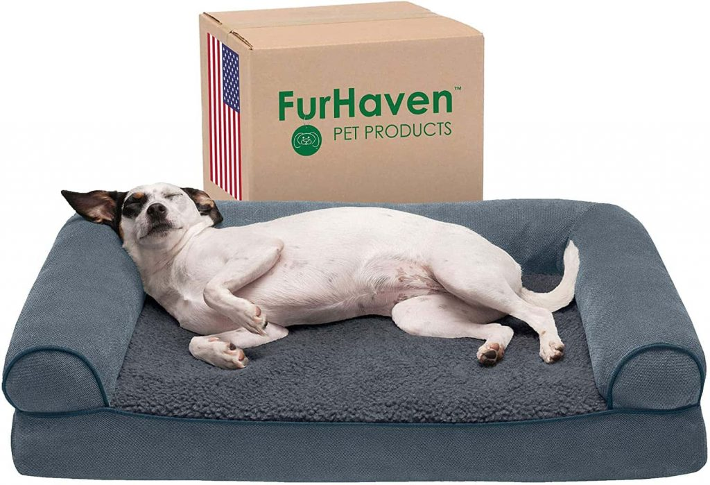 Furhaven Orthopedic Large Dog Bed With Removable Cover