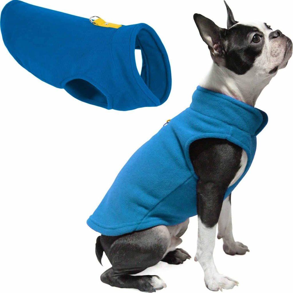 Gooby Fleece Vest Dog Sweater
